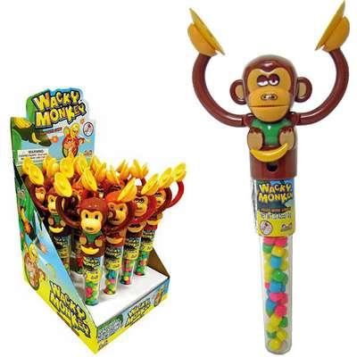 Обезьянка с тарелками и конфетами Wacky Monkey Kidsmania 12 гр, фото 4