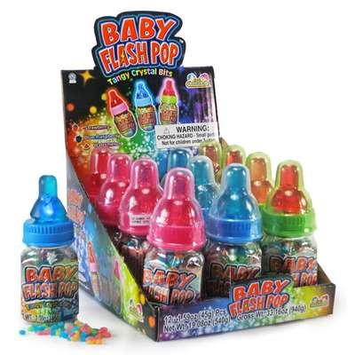 Леденцовая карамель Baby Flash Pop Kidsmania 45 гр, фото 1
