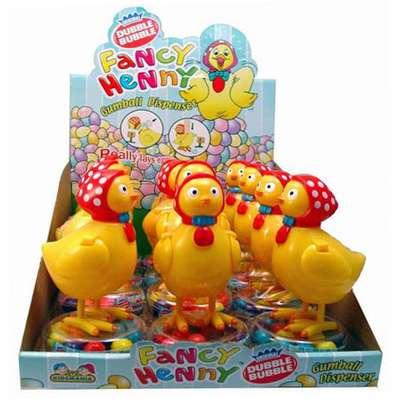 Жевательная резинка Fancy Henny Dubble Bubble Kidsmania 15 гр, фото 1