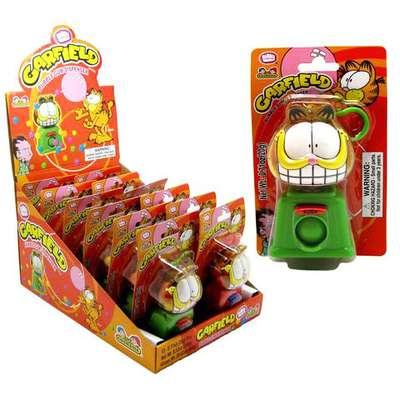 Жевательная резинка Garfield Bubble Gum Dispenser Kidsmania 20 гр, фото 1
