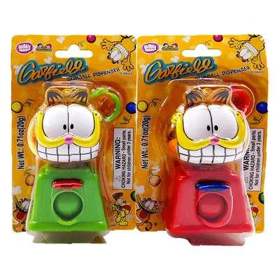 Жевательная резинка Garfield Bubble Gum Dispenser Kidsmania 20 гр, фото 2