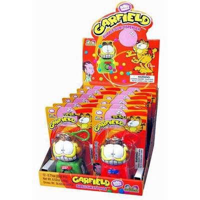 Жевательная резинка Garfield Bubble Gum Dispenser Kidsmania 20 гр, фото 4