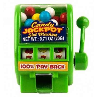 Джекпот диспенсер с жевательной резинкой Candy Jackpot Kidsmania 20 гр, фото 3