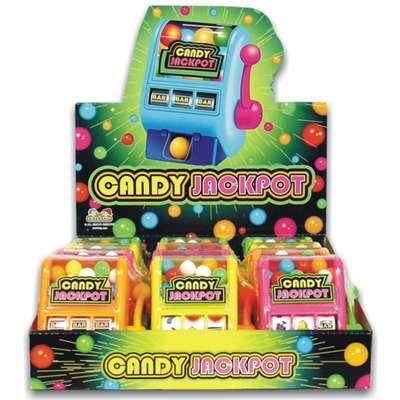 Джекпот диспенсер с жевательной резинкой Candy Jackpot Kidsmania 20 гр, фото 2