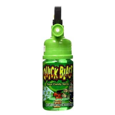 Жидкая конфета спрей Quick Blast Sour Candy Spray Kidsmania 58 гр, фото 3
