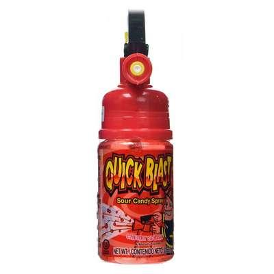 Жидкая конфета спрей Quick Blast Sour Candy Spray Kidsmania 58 гр, фото 4