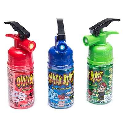 Жидкая конфета спрей Quick Blast Sour Candy Spray Kidsmania 58 гр, фото 5
