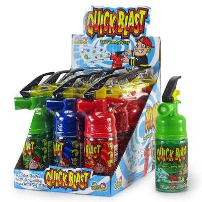 Жидкая конфета спрей Quick Blast Sour Candy Spray Kidsmania 58 гр, фото 6