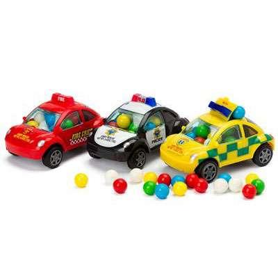 Машинка спецслужб с конфетами Rescue Candy Filled Cars Kidsmania 12 гр, фото 1