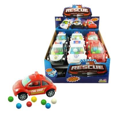 Машинка спецслужб с конфетами Rescue Candy Filled Cars Kidsmania 12 гр, фото 2
