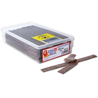 Жевательный мармелад Полоски кислая кола King Regal 1,7 кг, фото 1