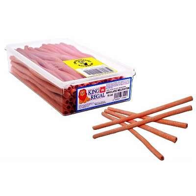 Жевательный мармелад Персиковый карандаш макси King Regal 1,5 кг, фото 1