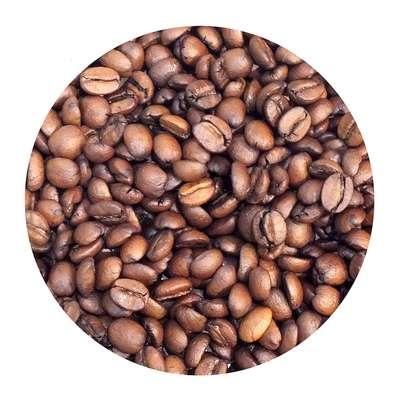 Кофе в зернах Медовый имбирь ароматизированный 100 гр, фото 1