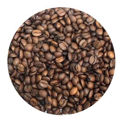 Кофе в зернах Апельсин в шоколаде ароматизированный 100 гр, фото 1