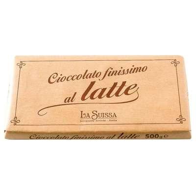Молочный шоколад 31% большая плитка Latte La Suissa 500 гр, фото 1