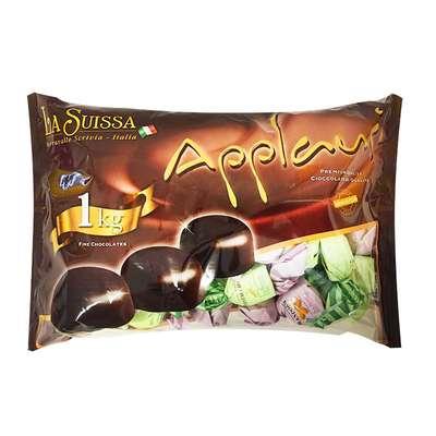 Шоколадные конфеты Ореховые нежные La Suissa 100 гр, фото 5