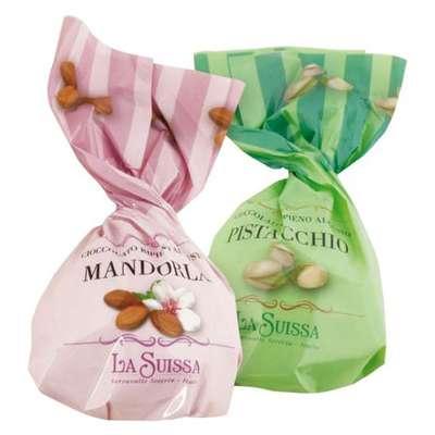 Шоколадные конфеты Ореховые нежные La Suissa 1 кг, фото 2