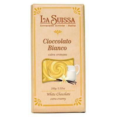 Белый шоколад La Suissa 100 гр, фото 1