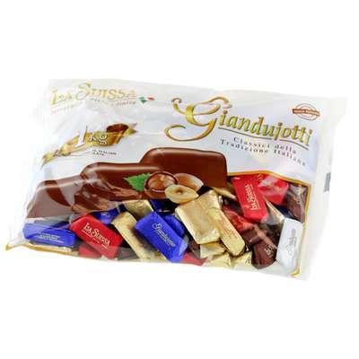 Шоколадные конфеты Джиандуиотти ассорти La Suissa 100 гр, фото 3