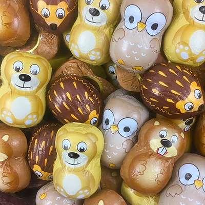 Шоколадные конфеты Лесные друзья La Suissa 1 кг, фото 4