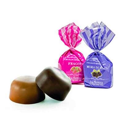 Шоколадные конфеты Шоколадный десерт Клубника Ежевика La Suissa 1 кг, фото 5