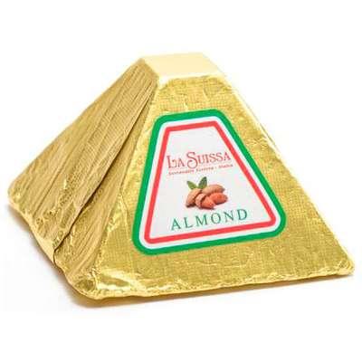 Шоколадные конфеты Premium Карамелизированный миндаль La Suissa 100 гр, фото 1