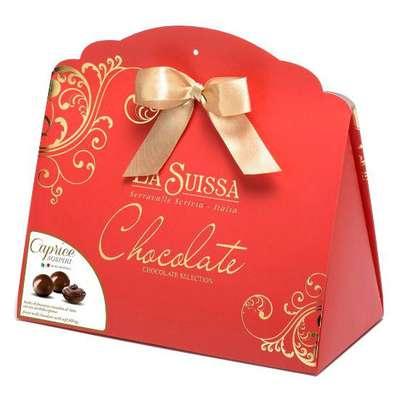 Подарочный набор шоколадных конфет Каприз La Suissa 200 гр, фото 2