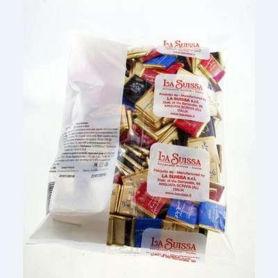 Шоколадные конфеты Неаполитаны ассорти 4 вкуса La Suissa 100 гр, фото 3