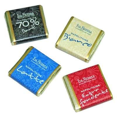 Шоколадные конфеты Неаполитаны ассорти 4 вкуса La Suissa 1 кг, фото 2