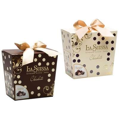 Подарочный набор конфет Горошек La Suissa 450 гр, фото 1