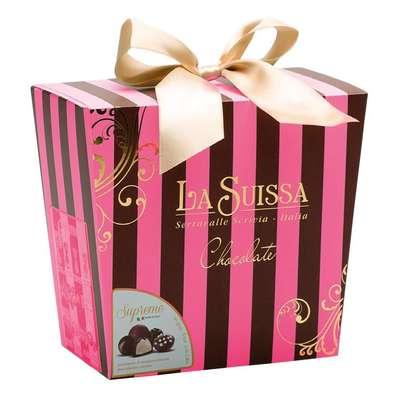 Подарочный набор конфет Полоска La Suissa 450 гр, фото 2