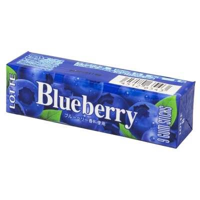 Жевательная резинка со вкусом черники Blueberry Lotte 31 гр, фото 1