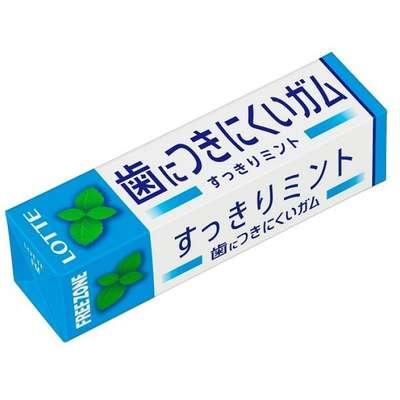 Жевательная резинка со вкусом мяты Free zone gum mint Lotte 25,2 гр, фото 1