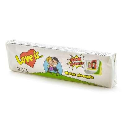 Жевательная конфета Дыня Ананас LOVE IS 25 гр, фото 2