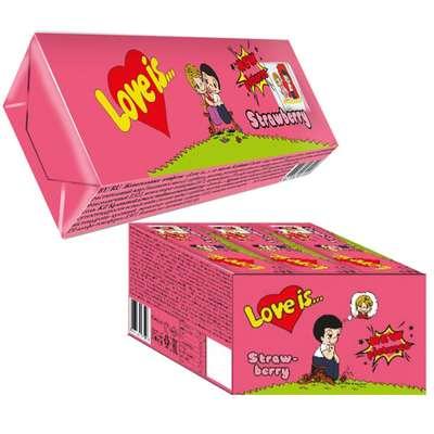 Жевательная конфета Клубника LOVE IS 25 гр, фото 3