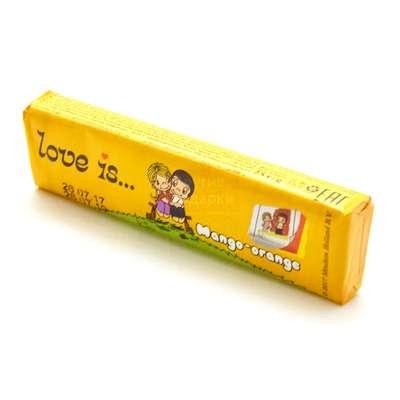 Жевательная конфета Манго Апельсин LOVE IS 25 гр, фото 2