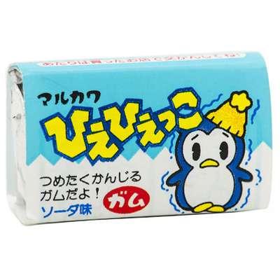 Жевательная резинка со вкусом содовой Cold Penguin Marukawa 5,5 гр, фото 1