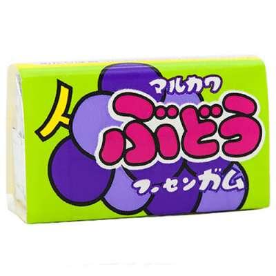 Жевательная резинка со вкусом винограда Grape Marukawa 5,5 гр, фото 1