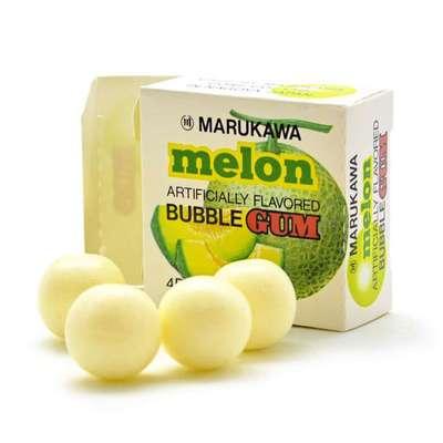 Жевательная резинка в виде шаров со вкусом дыни Melon Marukawa 5,4 гр, фото 2