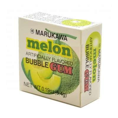Жевательная резинка в виде шаров со вкусом дыни Melon Marukawa 5,4 гр, фото 1