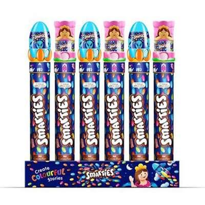 Диспенсер с драже и игрушкой Smarties Dispenser Toppers Nestle 150 гр, фото 2