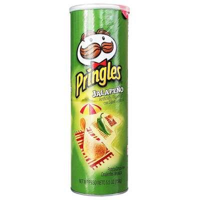 Картофельные чипсы с перцем Jalapeno Pringles 158 гр, фото 1