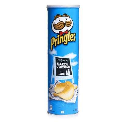 Картофельные чипсы соль и уксус Salt & Vinegar Pringles 158 гр, фото 1