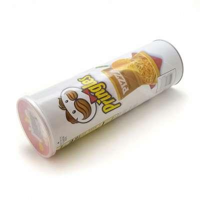 Картофельные чипсы вкус пиццы Pizza Pringles 158 гр, фото 2