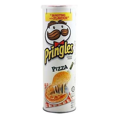 Картофельные чипсы вкус пиццы Pizza Pringles 158 гр, фото 1