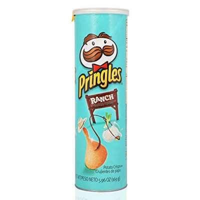 Картофельные чипсы с чесночным соусом Ranch Pringles 158 гр, фото 1
