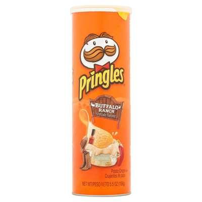 Картофельные чипсы острый соус Buffalo Ranch Pringles 158 гр, фото 1