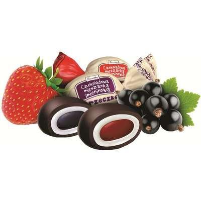 Карамель в шоколаде Мешанка Именины Pszczolka 100 гр, фото 2
