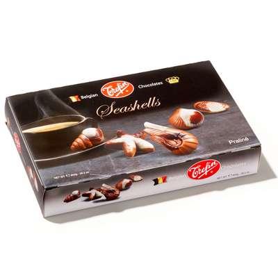 Большая подарочная коробка конфет Морские ракушки Trefin 800 гр, фото 2