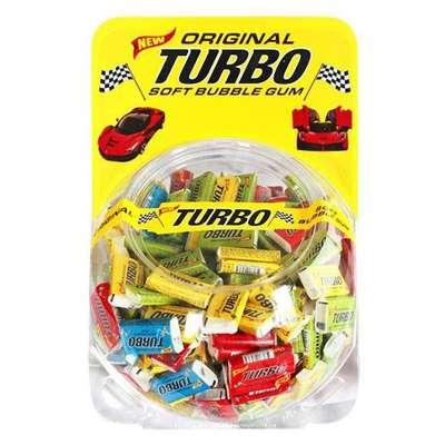 Жевательная резинка Сфера Ассорти вкусов TURBO 4,5 гр x 300 шт, фото 1